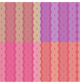 Seamless Retro Abstract Pattern - Background vector image