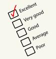 feedback form vector image