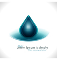 Water Drops Design Background vector image