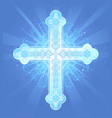 heavenly cross vector image