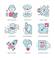Create Brand Icons vector image