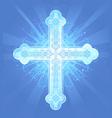 heavenly cross vector image