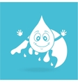 water character design vector image