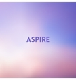 square blurred pink and blue background - sunset vector image