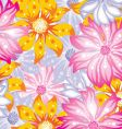 flower background vector image vector image