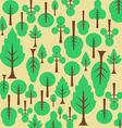 Background pattern tree For the fabric vector image