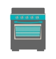 oven stove icon image vector image