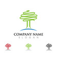 tree icon logo vector image
