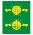Brazil badges old school style vector image