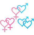 symbols of sexual orientation vector image