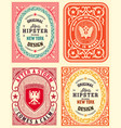 baroque resources with floral details and retro vector image
