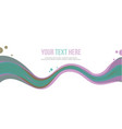 header website abstract background style vector image