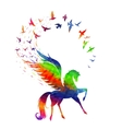Pegasus concept of inspiration vector image