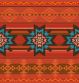 traditional textile pattern in ethnic style vector image