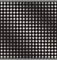 geometric seamless star shapes pattern halftone vector image