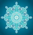 Hand drawn ornamental background vector image vector image