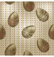 seamless vintage easter pattern vector image vector image