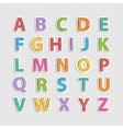 Alphabet letter vector image