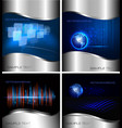 business backgrounds vector image vector image