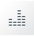 mixer outline symbol premium quality isolated vector image