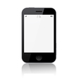 Smartphone Isolated on White Background vector image