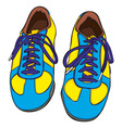 cartoon shoes vector image