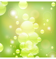 Bubbles Background vector image