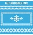 Pattern Border Pack vector image