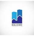 Real Estate Concept Symbol Icon or Logo Template vector image