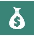 Dollar Bag Icon vector image