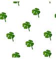 clover pattern quatrefoil vector image
