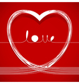 love lines vector image