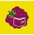 fruit book design vector image