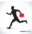 side runner folder vector image vector image