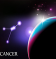 Cancer vector image vector image