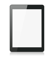 Black Tablet Computer or Reader vector image