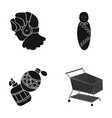 store products transportation and other web icon vector image