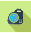 Modern flat design concept icon Video camera vector image vector image