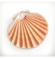 Seashell icon vector image