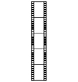 film strip isolated vector image vector image