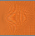 orange wave dot background abstract wallpaper vector image