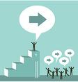 Leadership business team vector image