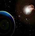 Eclipse 6 vector image vector image