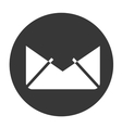 mail object icon vector image