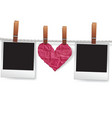 Love messages vector image