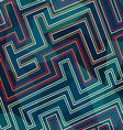 neon seamless pattern vector image
