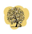 Beer tree sketch for your design vector image vector image