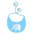 clothing baby dress icon vector image
