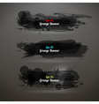 Grunge Transparency Banner vector image vector image