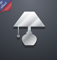 table lamp icon symbol 3D style Trendy modern vector image